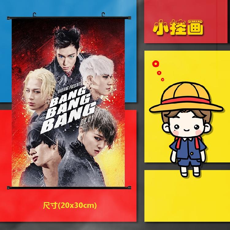 ไวนิลแขวนฝาผนัง (20X30CM) BIGBANG BANG