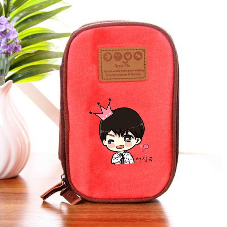 กระเป๋าดินสอ BTS Cartoon - Jungkook