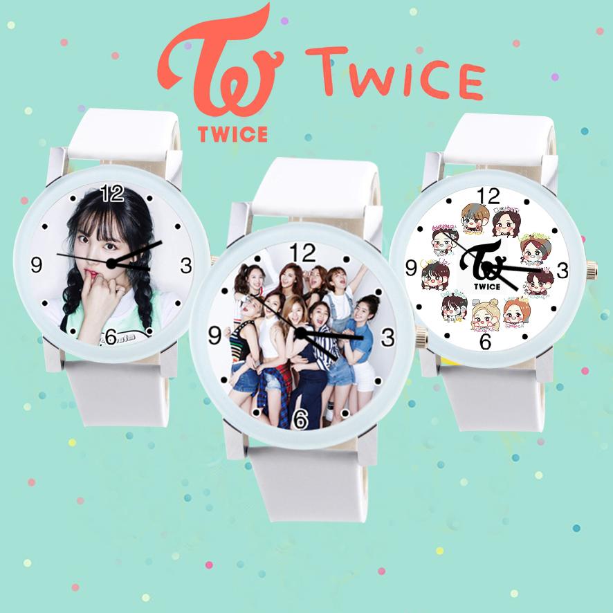 นาฬิกาข้อมือการ์ตูน Twice -เลือกแบบ-