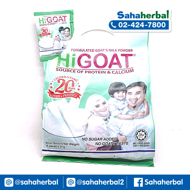 นมแพะ HIGOAT SALE 60-80% ฟรีของแถมทุกรายการ HIGOAT Instant Goats Milk Powder