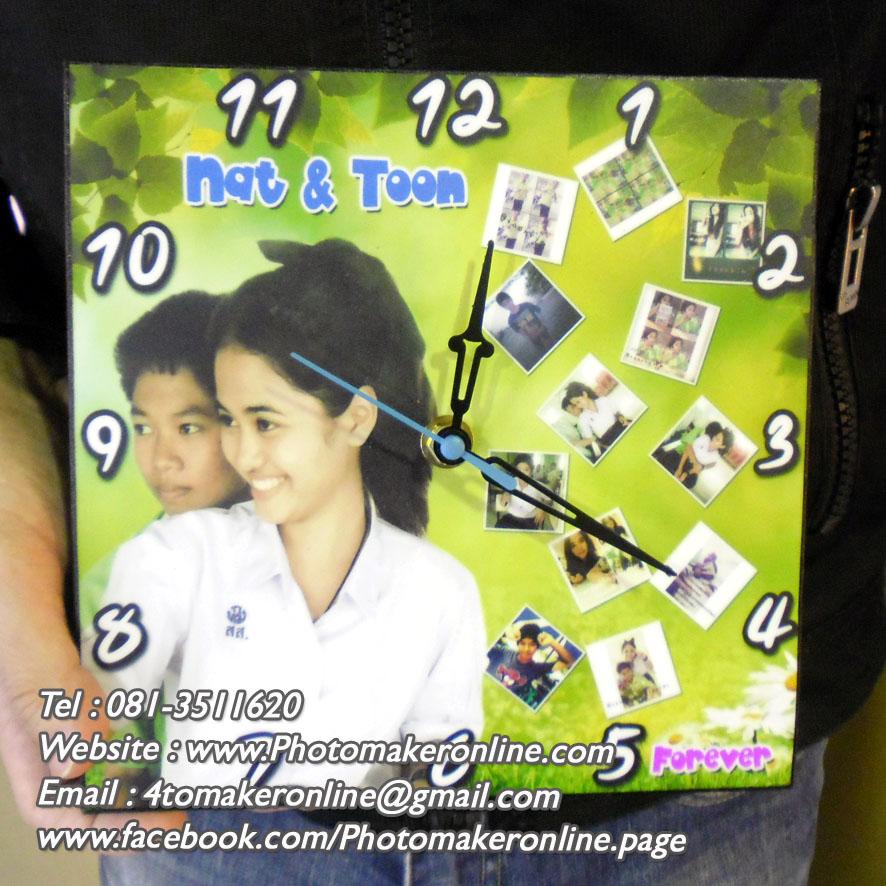 384-มิกซ์รูปกรอบลอย 8x8 นิ้ว ใส่นาฬิกา