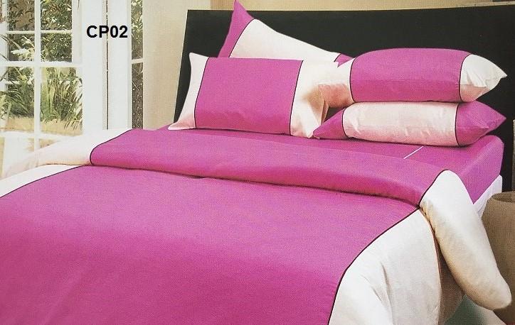 ปลอกผ้านวม ทูโทน ผ้าCVC250 เส้นด้าย มี 7สี 90*100นิ้ว ผืนละ 860 บาท ส่ง 20 ชุด