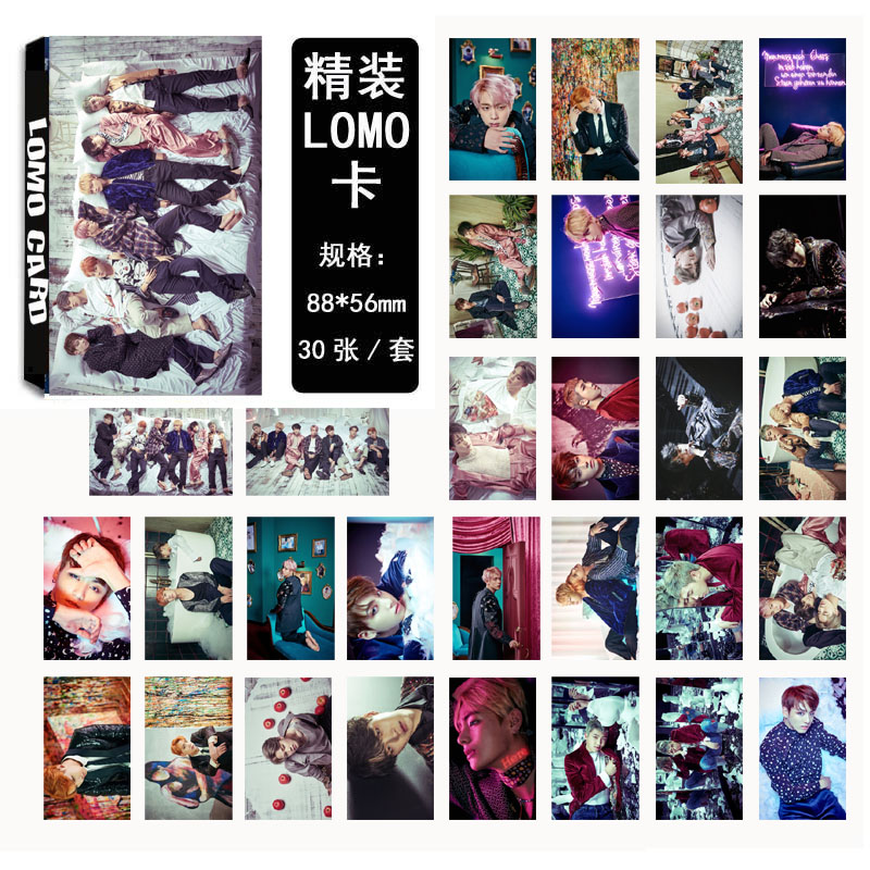 Lomo card set BTS WINGS (30pc)