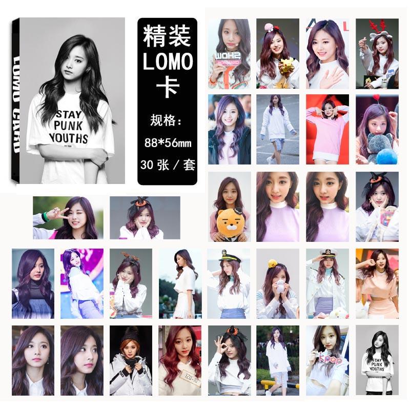 Lomo card set Twice -Tzuyu (30pc)