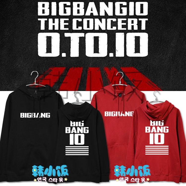 Hoodie BIGBANG10 THE CONCERT 0.T0.10 -ระบุสี/ไซต์-