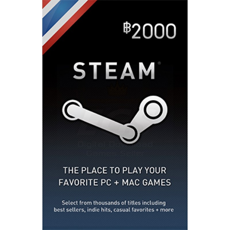 Steam Wallet Thai 2000 THB