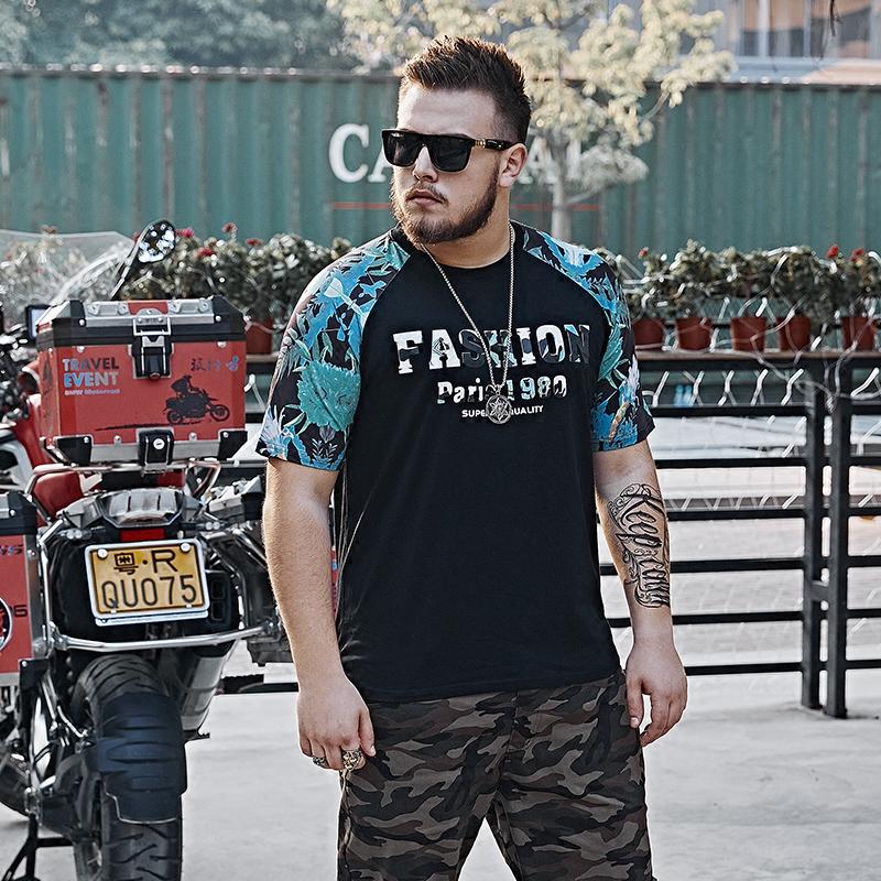 *Pre Order*Fat Fairy 200 pounds เสื้อยืดแขนสั้น-แฟชั่นผู้ชายไซส์ใหญ่ size XL-6XL