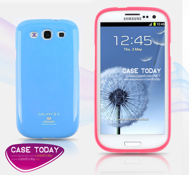 เคส Galaxy S3 Jelly Case TPU จาก Mercury