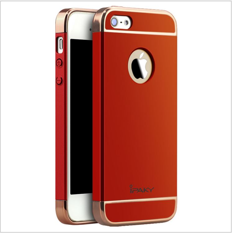 IPAKY CASE 360 3 in 1 iPhone 5 / 5s / SE-RED