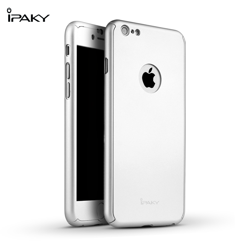 iPaky case 360 degree case iPhone 6 6Plus-Silver