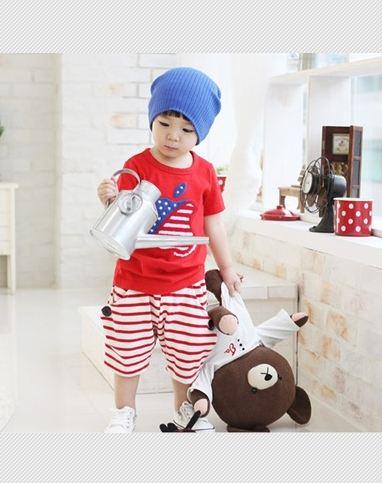 ชุดเซตเด็ก เสื้อ +กางเกง น่ารักสไตล์เกาหลี เก๋มากค่ะขนาด120
