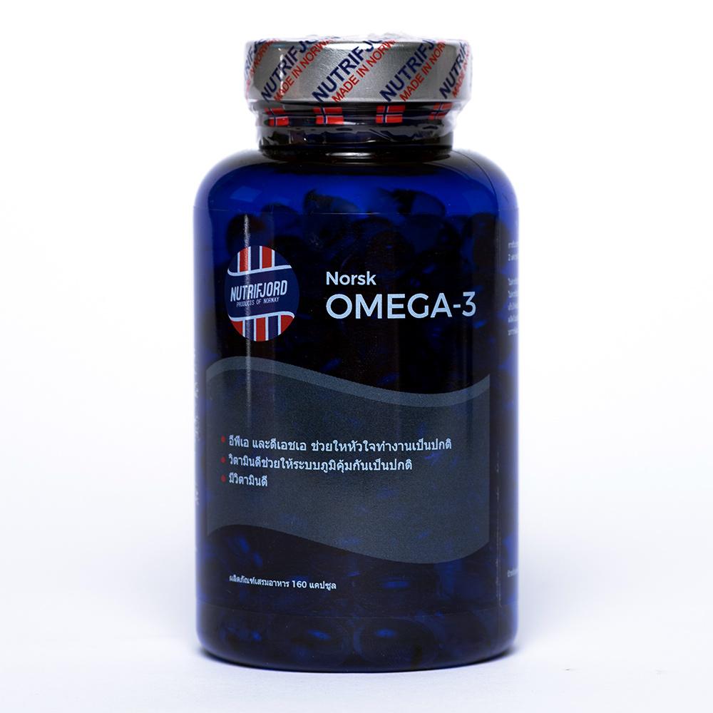 Nutrifjord Norwegian Omega-3 (160 capsules)
