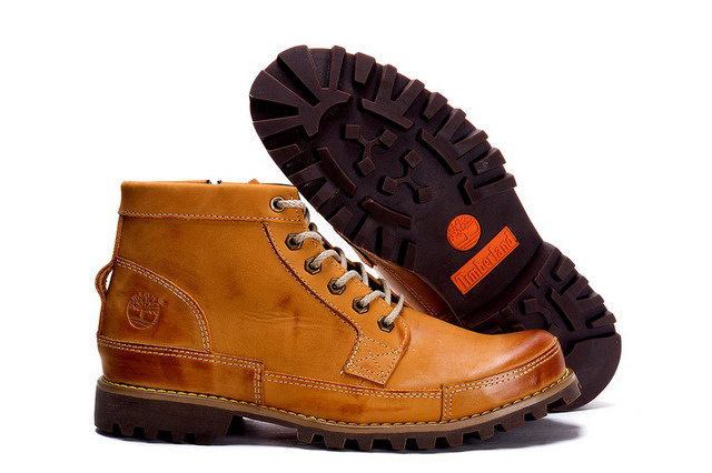 รองเท้าหนัง Men's Timberland 7728 Earthkeepers City Premium Side Zip Boots Yellow Size 39-44 พร้อมกล่อง
