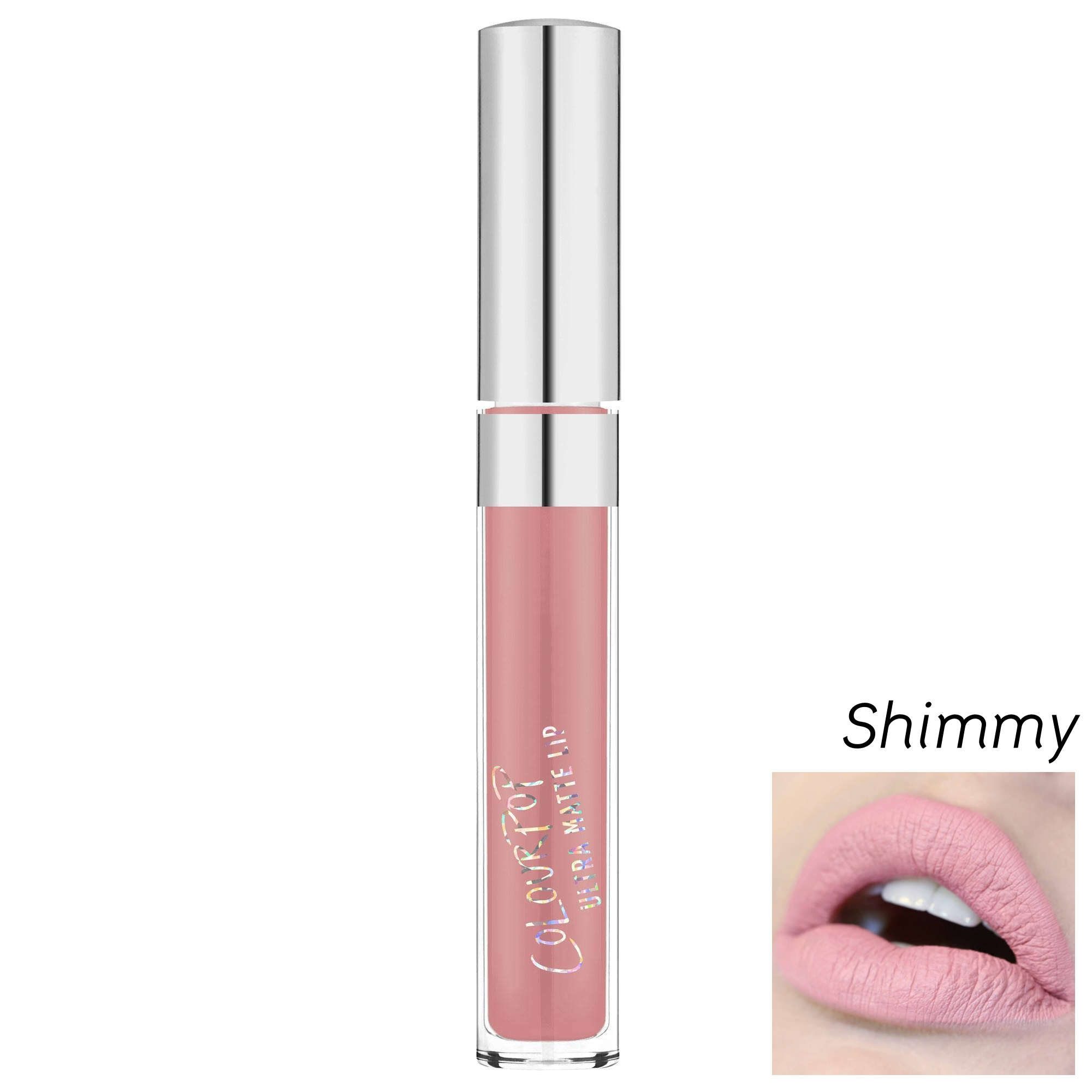 **พร้อมส่ง + ลด 30 %** COLOURPOP ULTRA SATIN LIQUID LIPSTICK สี Shimmy