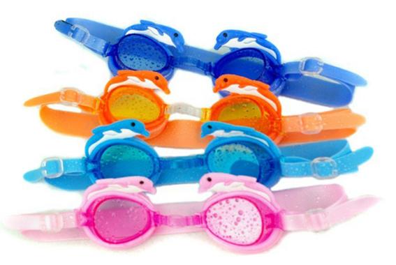 แว่นตาว่ายน้ำสำหรับเด็ก