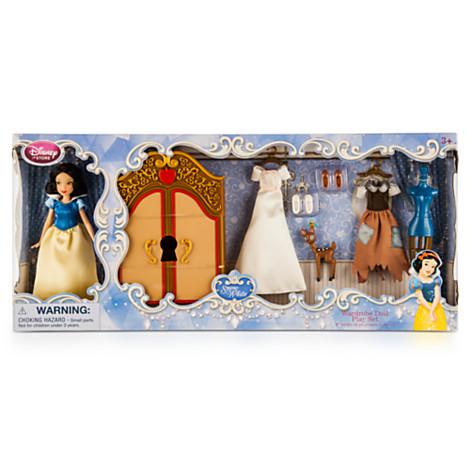 z Snow White Wardrobe Doll Play Set