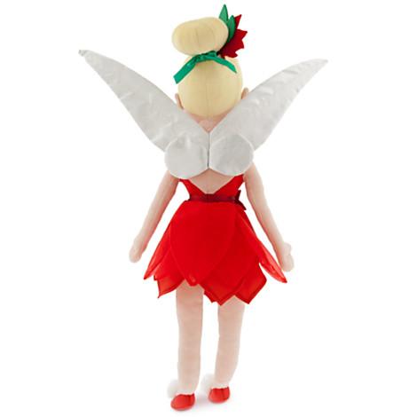 z Tinker Bell Plush Doll - Holiday - Medium - 21 1/2''