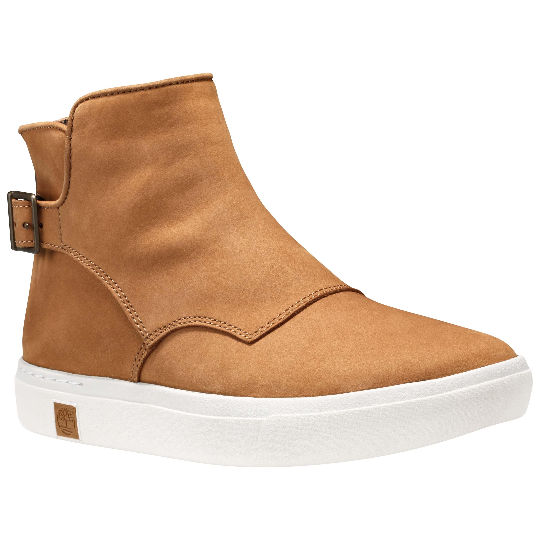 รองเท้าหนัง WOMEN'S Earthkeepers Timberland Amherst Buckle Chelsea - Wheat Nubuck SHOES Size 36 - 39 พร้อมกล่อง