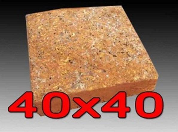 หินศิลาแลงเหลี่ยม ขนาด 40x40 ซม.