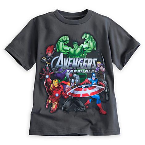 z Avengers Assemble Tee for Boys