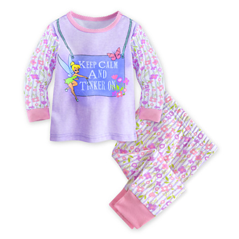 z Tinker Bell PJ Pal for baby (size4)