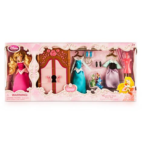 Z Aurora Wardrobe Doll Play Set