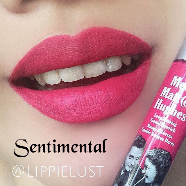 **พร้อมส่งค่ะ**The Balm Meet Matte Hughes Long Lasting Liquid Lipstick สี Sentimental