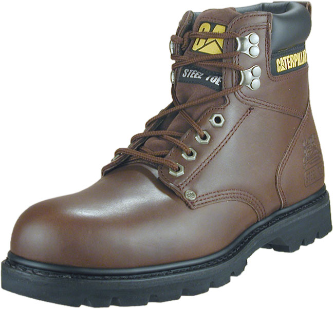 รองเท้า หัวเหล็ก Caterpillar Women's Brown Second Shift Steel Toe Boot Size 36 - 41