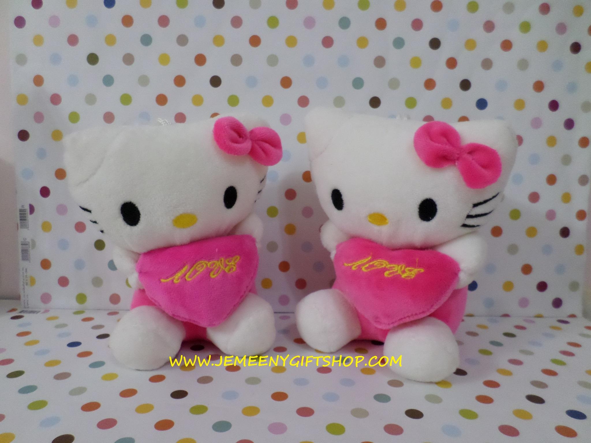 ตุ๊กตาฮัลโหลคิตตี้ Hello kitty#2 ขนาดสูง 18 cm (7.2 นิ้ว) ราคาต่อคู่