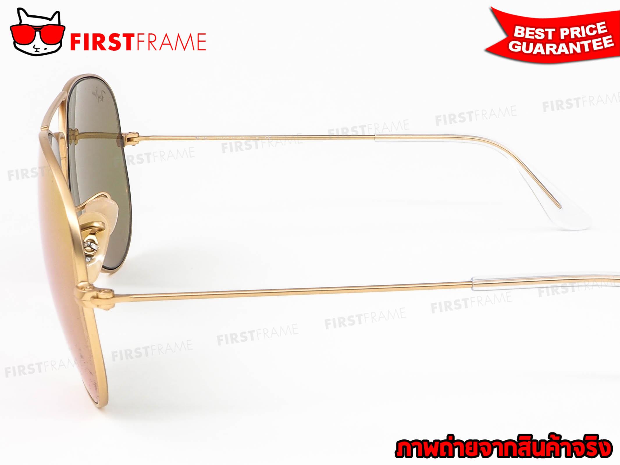 แว่นกันแดด RayBan RB3025 112/4T 5
