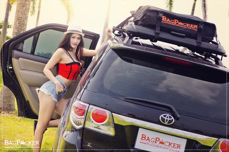 กระเป๋าหลังคารถยนต์, car roof bag, SUV, BagPacker