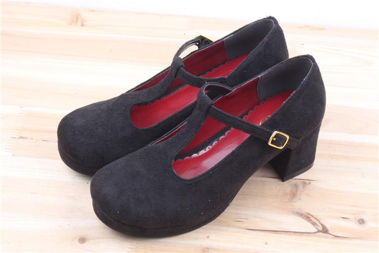 พรีออเดอร์รองเท้าโลลิต้าน่ารัก Lolita