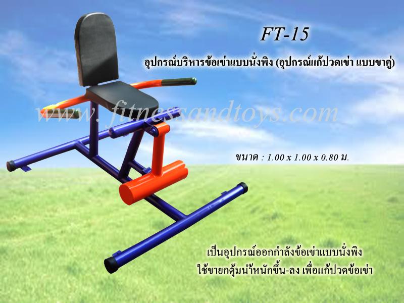 FT-15 อุปกรณ์บริหารข้อเข่าแบบนั่งพิง