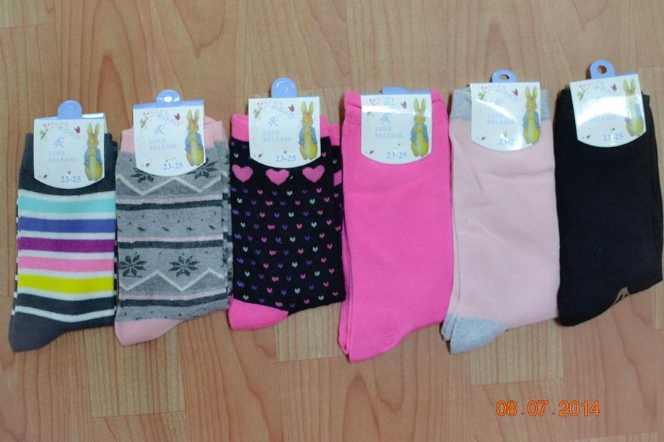 S251**พร้อมส่ง** (ปลีก+ส่ง) ถุงเท้าแฟชั่นเกาหลี ข้อยาว คละ 6 สี เนื้อดี งานนำเข้า(Made in China)