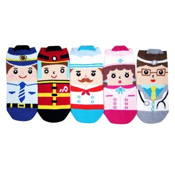 A036**พร้อมส่ง**(ปลีก+ส่ง) ถุงเท้า แฟชั่นเกาหลี แบบหมวก ข้อสั้น มี 5 แบบ เนื้อดี งานนำเข้า( Made in Korea)