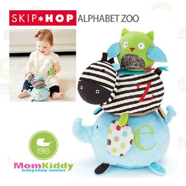 ตุ๊กตารูปสัตว์เรียงซ้อน Skip Hop Alphabet Zoo Stack and Stick Animal