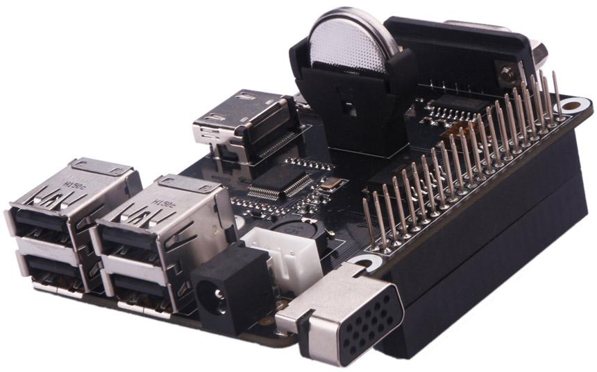 X105 multifunction expansion board HDMI to VGA For Raspberry Pi 3 Model B / 2 Model B