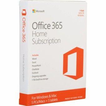 Microsoft Office 365 Home English APAC EM Subscr 1YR