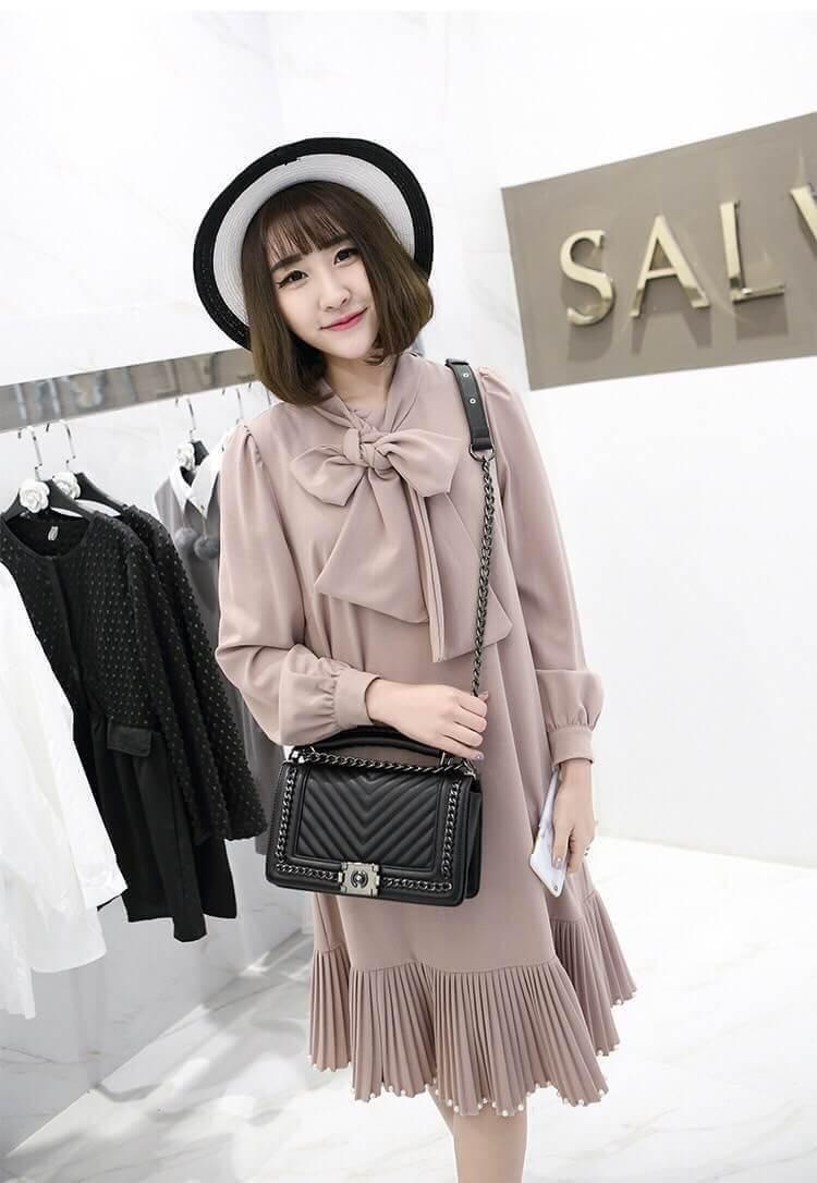 ZARA (Basic) shoulder bag กระเป๋าทรง Look like chanel มี 3 สี