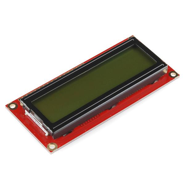 16x2 Character LCD 5V - Black on Green (แท้จาก SparkFun)