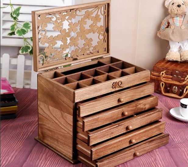 กล่องไม้งานพรีเมี่ยมสไตล์งานไม้