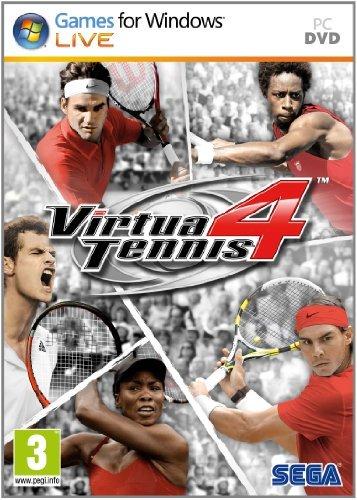 Virtua Tennis 4 ( 1 DVD )