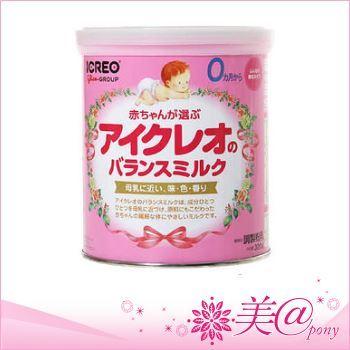 Glico Icreo Balanced milk นมผงสกัดพิเศษจากฮอกไกโดสำหรับเด็ก0- 9 เดือน สุตรสมดุลคุณภาพสูง สูตรใกล้เคียงกับนมแม่สูตรเสริมสร้างความเจริญเติบโตให้ลูกน้อยด้วยสูตร ALAและDHA มีพัฒนาการทางสมองและร่างกายที่สมบูรณ์แข็งแรง