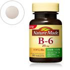 Nature Made Japan Vitamin B6 80เม็ด จำเป็นต่อการทำงานของสมองและระบบประสาท เผาผลาญทำหน้าที่เผาผลาญคาร์โบไฮเดรต ไขมัน และโปรตีนในร่างกายส่งเสริมการทำงานของระบบประสาท กล้ามเนื้อ และกระดูกรักษาโรคเสื่อมสมรรถภาพของอวัยวะต่าง ๆช่วยชะลอวัย ทำให้นอนหลับสนิทไม่ตื่