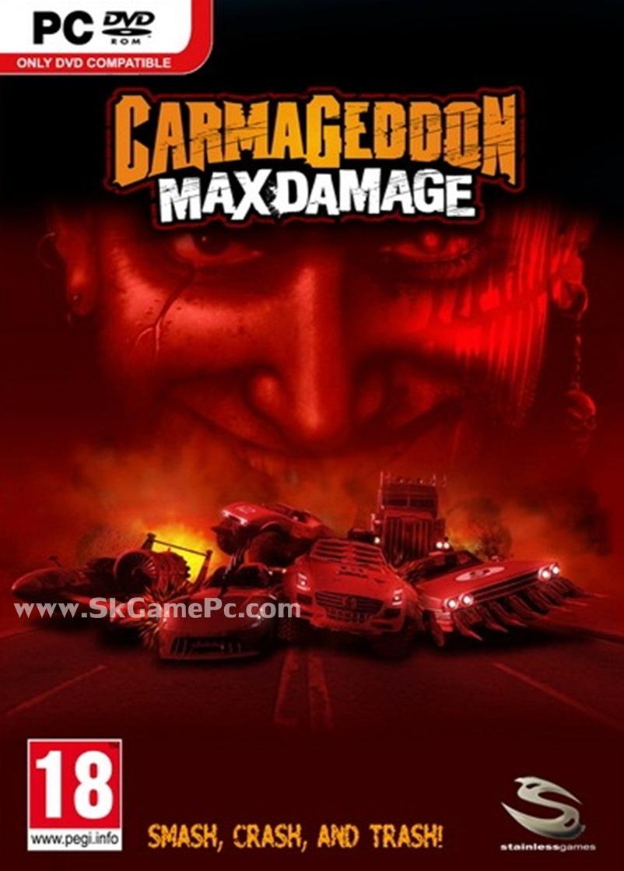Carmageddon Max Damage ( 3 DVD )