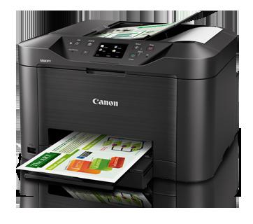 Canon MAXIFY MB5070 Printer เครื่องพิมพ์อิงค์เจ็ทแบบ All-in-one รุ่นไฮเอ็นด์สำหรับสำนักงาน - print, scan, copy, fax