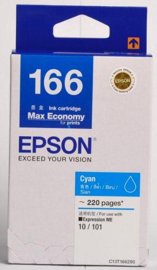 Epson T166290 (166) หมึกพิมพ์อิงค์เจ็ต สีฟ้า Cyan Original Ink
