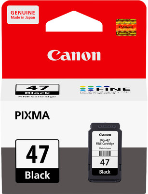 Canon PG-47 ตลับหมึกอิงค์เจ็ท สีดำ Black Original Ink Cartridge