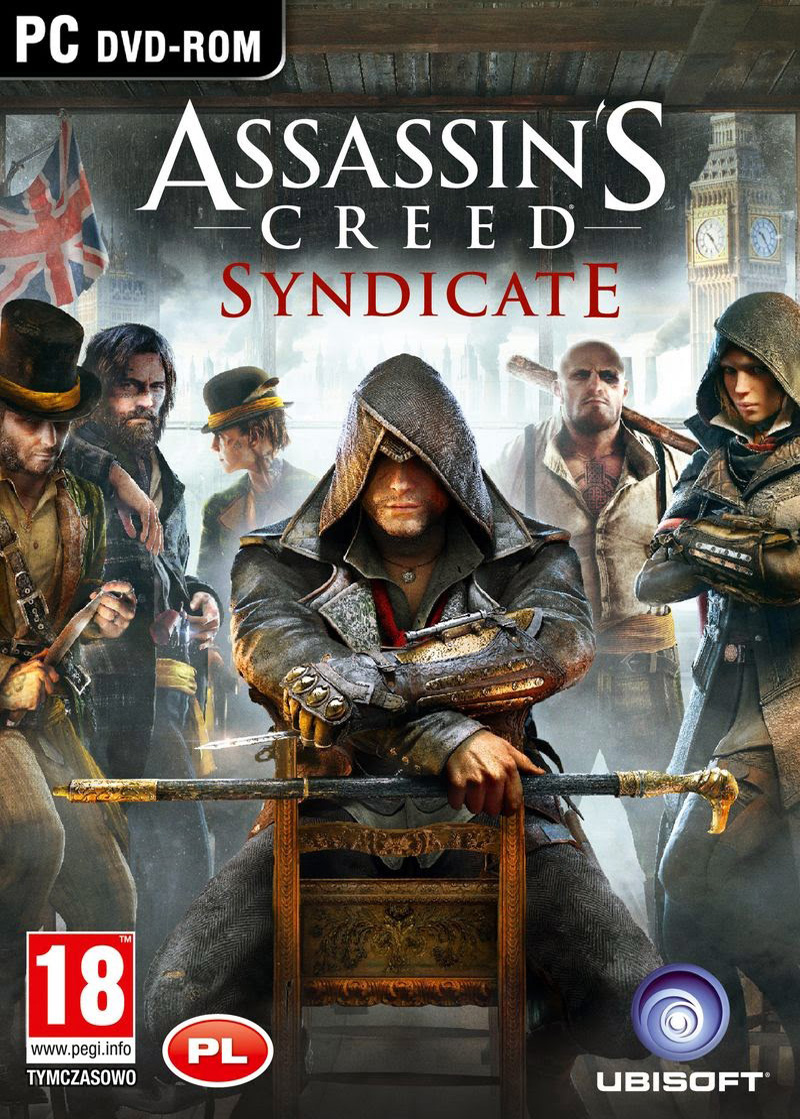 Assassins Creed Syndicate ( 8 DVD )