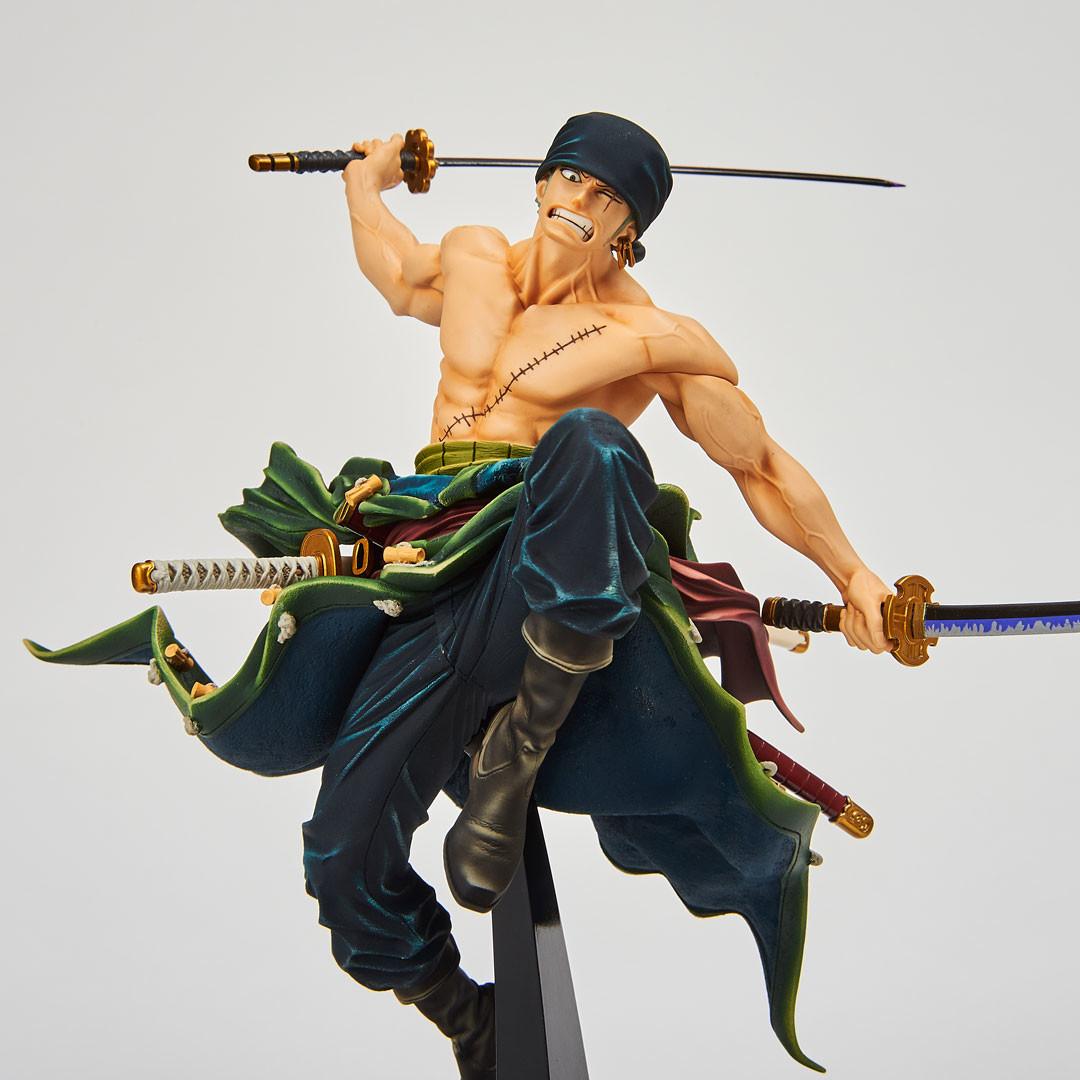 One Piece - Roronoa Zoro - Figure Colosseum - SCultures - Zoukeiou Choujoukessen World Vol.1